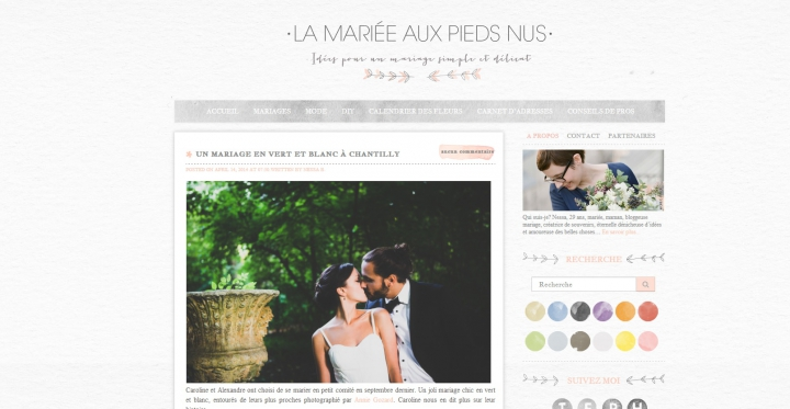 publication caroline alex chez la mari e aux pieds nus annie gozard photographe mariage. Black Bedroom Furniture Sets. Home Design Ideas
