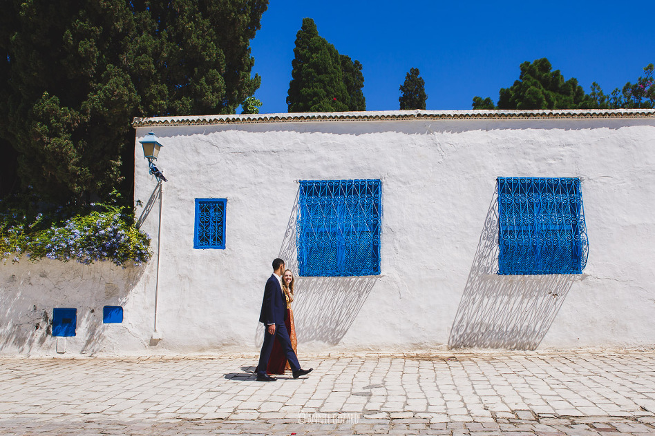 photographe mariage tunisie photo de couple à Sidi Bou Saïd